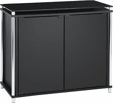 Hygena Matrix 2 Door Sideboard - Black Glass -From the Argos Shop on ebay