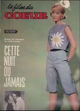 Le Film du Coeur N° 134/1964 - Cette Nuit ou Jamais, Jean Simmons Paul Douglas