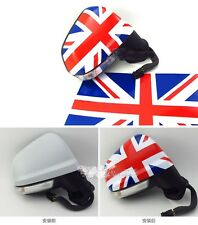 Car Vinyl Rearview Side Mirror Decal Sticker x2 For Mini Cooper UK England Flag