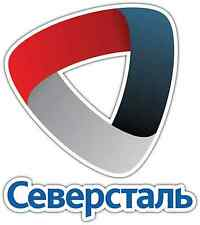 "Severstal Cherepovets KHL Hockey Car Bumper Window Locker Sticker Decal 4""X5"""