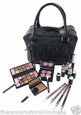 NEW BOXED ACTIVE COSMETICS THE 'GET AWAY' BAG~EYE SHADOWS~BLUSHERS~BRUSHES 20777