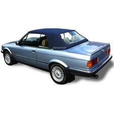 BMW E30 Convertible Soft Top & Plastic Window 3 series 1986-1993 Blue Stayfast