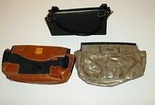 Miche Classic Lot - Base Purse, Handles, & 2 Shells - Mavi & Taupe Color