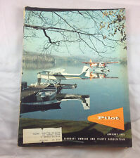 AOPA Pilot Magazine Airplane Aviation January 1965 Cessna 180 Quebec Canada