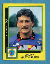 FOOTBALL 91 BELGIO Panini - Figurina-Sticker n. 111 - MATTHIJSSEN - GENK -New