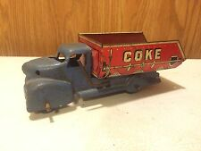 VINTAGE MARX COAL COKE DUMP TRUCK PRESSED STEEL TOY