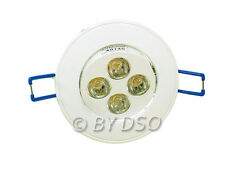 Omicron White Finish LED Downlight 2700k (Warm White) 5 Watt