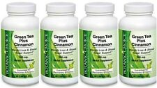 4 BOTTLE GREEN TEA + CINNAMON 1150MG WEIGHT LOSS DIET SUPPLEMENT 120 CAPSULES