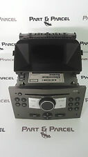 VAUXHALL ZAFIRA B RADIO CD PLAYER HEAD UNIT & DISPLAY SCREEN 13190856 453116246