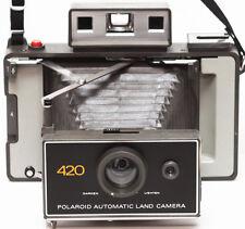 Polaroid 420 Instant Film Folding Land Camera AAA Battery Made in USA 1970s