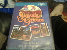 simsala grimm hans in luck and the nightingale kids fairytale dvd new sealed