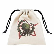 Q-workshop Dice Bag Cthulhu Colour Linen w/ Drawstring BCTH104