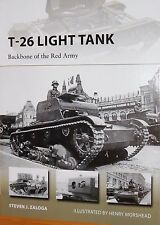 OSPREY: T-26 LIGHT TANK - BACKBONE OF THE RED ARMY