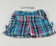 "Plaid Shorts Clothes for 18"" American Girl Doll or Baby Lovvbugg=Best Selection"