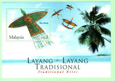 Malaysia 2005 Traditional Kites ~ M/S mint