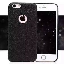 Coque Silicone Semi Rigide Brillant Strass Bling Bling Noir Black Iphone 6 6S
