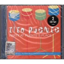 DOPPIO CD TITO PUENTE PARTY AT PUENTE'S PLACE NUOVO ORIGINALE SIGILLATO NEW