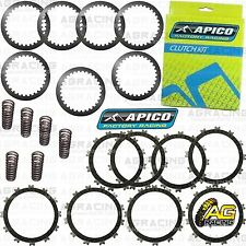 Apico Clutch Kit Steel Friction Plates & Springs For Suzuki RM 250 2006 MotoX