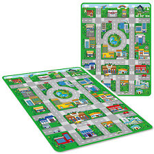 JUMBO 120CM x 90CM KIDS PLAY MAT CAR CITY TOY TOWN PLAYMAT EVA FOAM WIPE CLEAN