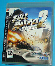 Full Auto Battlelines 2 - Sony Playstation 3 PS3 - PAL