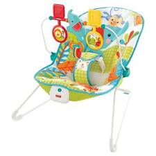 Fisher-Price Animal Party Infant Baby Bouncer Display Model