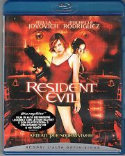 Blu-ray DISC MILLA JOVOVICH MICHELLE RODRIGUEZ RESIDENT EVIL