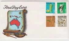 Stamps Australia 1969 Primary Industry set 4 on Seven Seas Stamps cachet FDC