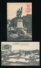 FRENCH GUINEA 1907 + 1917 PPCs CONAKRY...2 ITEMS