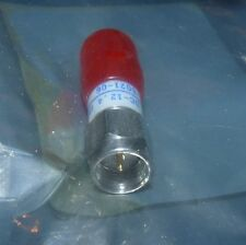 NEW TYCO M/A-COM 2082-6021-06 FIXED ATTENUATOR STAINLESS STEEL DC TO 12.4