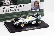 Keke Rosberg williams fw08c #1 fórmula 1 1983 1:43 Altaya