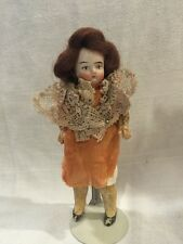 Antique Bisque Head Miniature Doll Germany  5 1/4""