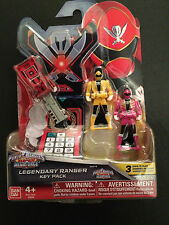 Power rangers megaforce clé set pour legendary morpher-rose jaune rouge pirates