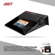 ISDT SC-620 500W 20A Mini LCD Battery Balance Charger for LiPo Li-ion etc. E1N6