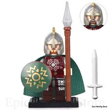Custom Eomer Lord of the Mark LOTR Minifigure fits Lego pg502 UK Seller Hobbit