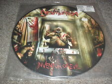 DESTRUCTION-INVENTOR OF EVIL- AWESOME RARE LTD EDITION PICTURE LP NUMBERED 999C