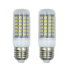 2Pcs 69 Led Corn Bulb 5730 SMD led E27 lamp bulb Cool White AC220V-240V 6000K