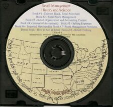 Retail Management History and Science - 7 Books
