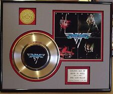 Van Halen - Framed & Matted 24k Gold Record Collectors Edition - USA Ships Free