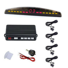 LED Display 4 Parking Sensor Car Rear View Backup Reverse Radar System Alarm Kit