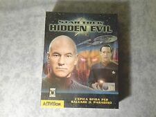 STAR TREK HIDDEN EVIL - PC - BIG BOX - LEADER ITALIANO - NUOVO SIGILLATO
