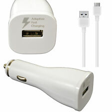 For LG G5 G6 V20 USB-C OEM Samsung Quick Charge Fast Charging Rapid Car Charger