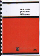 David Brown 990/995/996 Tractor Instruction Manual