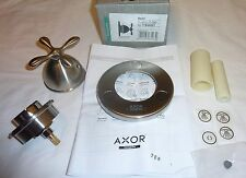 Hansgrohe 17942821 Axor Quattro Shower Finish Set Trim Cross Hdl BRUSHED NICKEL