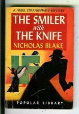 THE SMILER WITH THE KNIFE by Blake, rare US Pop Lib #41 crime pulp vintage pb
