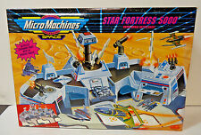 1993 RARE Micro Machines Star Fortress 5000 Outer Space Battle Base sealed