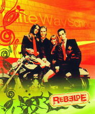 "REBELDE RBD 2004 Mexican Pop Music Group 50"" x 60"" FLEECE THROW BLANKET New"