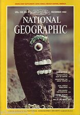 National Geographic December 1980 Aztecs Tenochtitlan Temple Portugal Fatima