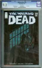 WALKING DEAD #20 CGC 9.2 WHITE PAGES