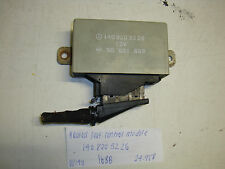 Mercedes-Benz W140 S500 S430 S320 heated seat control module 140 820 32 26