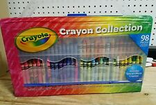 Crayola 98 Piece Special Effects Crayon Collection With Built In sharpener